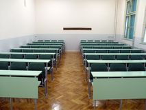 College classroom royalty free stock photography