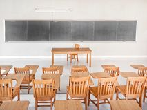 College Classroom Royalty Free Stock Images