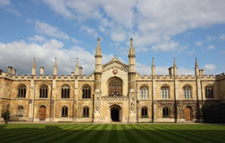 College of Corpus Christi in Cambridge. College of Corpus Christi and the Blessed Virgin Mary in Cambridge, UK Royalty Free Stock Photos