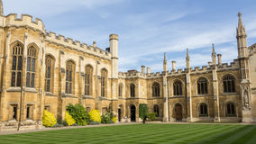 College of Corpus Christi in Cambridge UK Royalty Free Stock Image