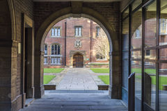 College courtyard in Cambridge Stock Photography