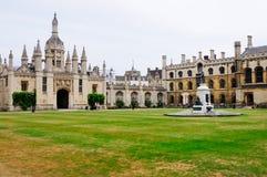College de rey, Cambridge Foto de archivo libre de regalías
