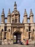 College de rey, Universidad de Cambridge fotografía de archivo