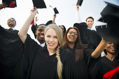 College Degree Education Alumni Friend Concept royalty free stock images