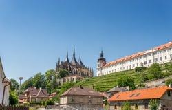 College des Heiligen Barbara Cathedral und des Jesuits Lizenzfreie Stockfotografie