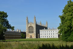College des Königs, Cambridge Stockfotografie