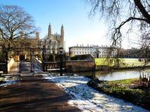 College des Königs, Universität von Cambridge Stockfotografie