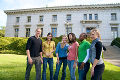 College diversity Stock Images
