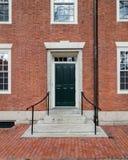 College Dorm Door Royalty Free Stock Images