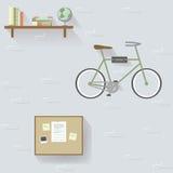 College Dorn Repeat Wallpaper Illustration Stockbild