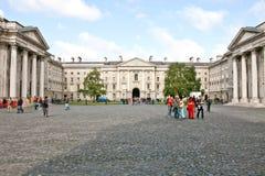 college Dublin edukacji punktu zwrotnego Północnej sławny trójca Zdjęcie Stock