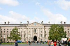 college Dublin edukacji punktu zwrotnego Północnej sławny trójca Zdjęcie Royalty Free