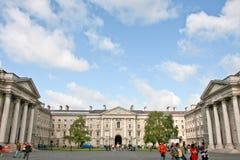 college Dublin edukacji punktu zwrotnego Północnej sławny trójca Obrazy Stock
