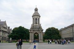 college Dublin edukacji punktu zwrotnego Północnej sławny trójca Obrazy Royalty Free