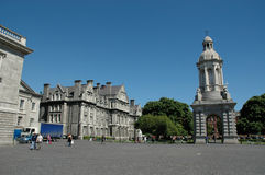 college Dublin trójca zdjęcia royalty free