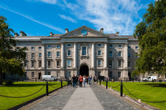 college Dublin trójca Obrazy Royalty Free