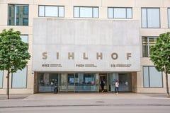 College of Education PHZH /  University of Applied Sciences HWZ in Zurich. Zurich, Switzerland - June 10, 2017: College of Education PHZH /  University of Stock Photo