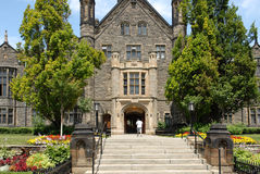 College entrance Royalty Free Stock Photography