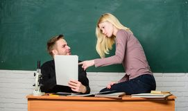 College entrance exam. Prepare final exam. Students study before exam. ertificate proves successfully passed university. Entrance exam. Students in classroom royalty free stock images