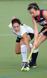 College Field Hockey - ladies Royalty Free Stock Photo