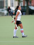 College Field Hockey - ladies - win Royalty Free Stock Photos