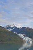 Vassar Glacier in College Fjord Stock Images