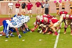 College - Football Lizenzfreie Stockbilder
