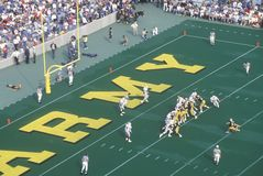College football game Army vs. Lafayette, Michie Stadium, New York Stock Image
