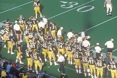 College football game Army vs. Lafayette, Michie Stadium, New York Stock Photography