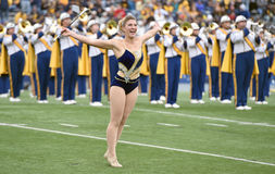 2014 College Football - Marching Band Royalty Free Stock Images