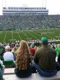 College - Football: Marshall University gegen FAU Lizenzfreie Stockfotos