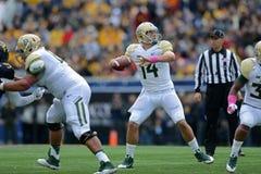 2014 College Football - quarterback pass Stock Photography