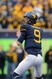 2014 College Football - quarterback pass Stock Photos