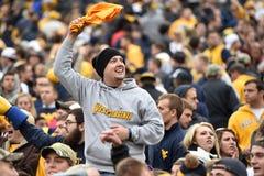 2014 College - Football - Siegesfeier Stockfoto