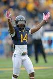 2014 College - Football - Siegesfeier Lizenzfreie Stockfotos