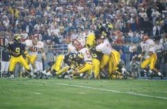 College Football team Stock Photo