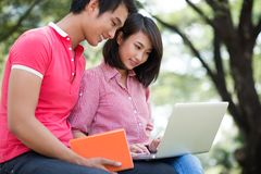 College friends Royalty Free Stock Photography