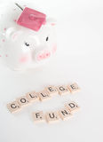 College Fund Concept Royalty Free Stock Images