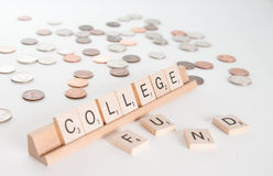 College Fund Concept Royalty Free Stock Photography