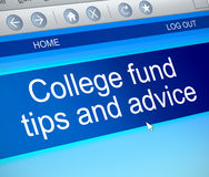 College fund concept. Royalty Free Stock Photography