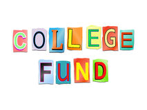 College fund concept. Stock Images