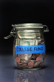 College Fund Jar Royalty Free Stock Image