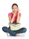 College girl Stock Image