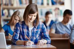 College girl Royalty Free Stock Photography
