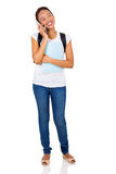 college girl mobile phone Royalty Free Stock Photos