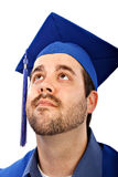 College Grad Portrait Royalty Free Stock Photos