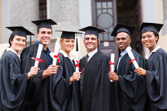 College Graduates Professor Stock Photos