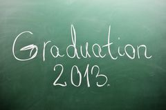 College graduation 2013 Royalty Free Stock Photo