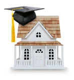 College Graduation Home Ownership Royalty Free Stock Photos