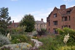 College grounds, Cambridge university Stock Photo